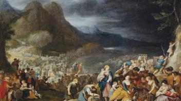 Les Israélites traversent la Mer Rouge, Jordaens