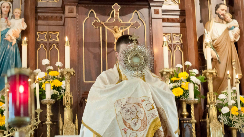 Christ the King Procession 2019 at the Church of the Transfiguration - Toronto