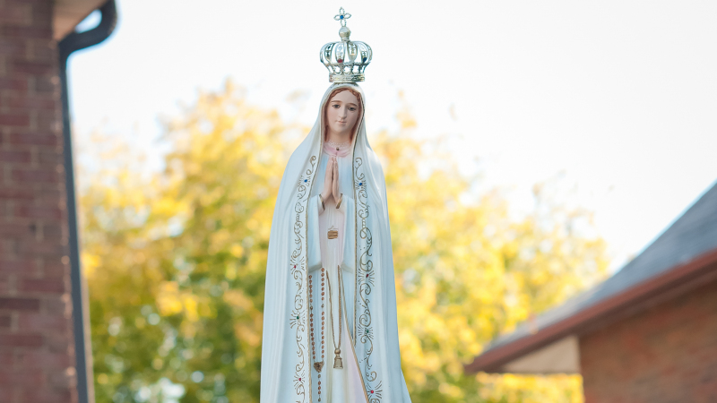 Procession of Our Lady of Fatima at the Church of Transfiguration - Toronto