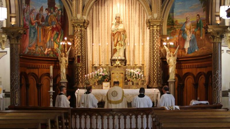 Saint-Césaire Canada FSSPX retraite-sacerdotale 2019