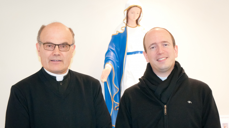 Church of the Transfiguration - Toronto - Visit of Fr Gomis - November 2019