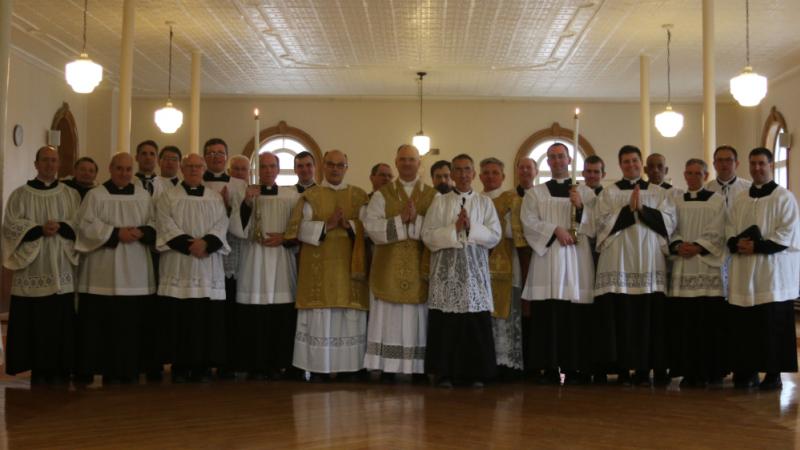 Session des prêtres fsspx canada 2019